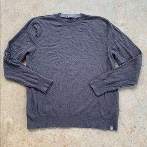 Men's The North Face Gray CrewNeck Sweater Sz Lg